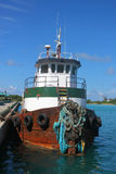 Tugboat in Nassau port Royalty Free Stock Photography