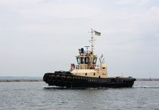 Tugboat at port Stock Images
