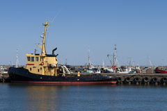 Tugboat in Port Royalty Free Stock Photo