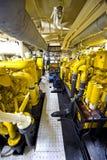 Tugboat's Engine Room stock photo