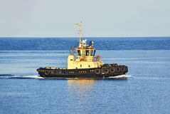 Tugboat in sea Stock Photos