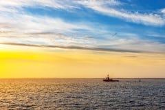 Tugboat on sea Stock Photography