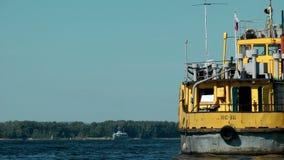 Tugboat stock footage