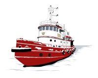 Tugboat Zdjęcie Stock