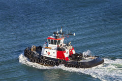 Tugboat in water Stock Photography