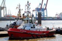 Tugboat ZP żubr obraz stock