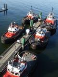 tugboats αποβαθρών Στοκ εικόνες με δικαίωμα ελεύθερης χρήσης