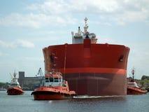 Tugboats πειραματικό σκάφος Στοκ φωτογραφία με δικαίωμα ελεύθερης χρήσης