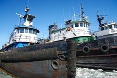 tugboats χειμώνας Στοκ φωτογραφία με δικαίωμα ελεύθερης χρήσης