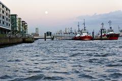Tugboats на гавани Стоковая Фотография RF