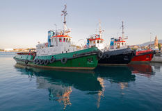 Tugboats. Royalty Free Stock Image