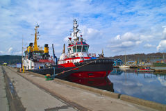 Tugboats Stock Image