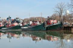 tugboats Fotografia de Stock Royalty Free