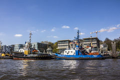 tugboats Fotografia Stock