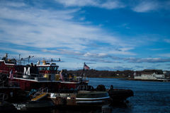tugboats Fotografia Royalty Free