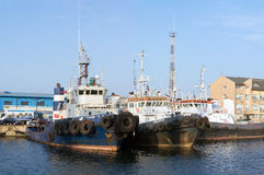 Tugboats Royalty Free Stock Images