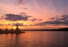 Tugboats przy Parana rzeką zdjęcie royalty free