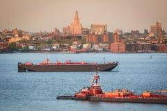 Tugboats w Górnej Nowy Jork zatoce Zdjęcie Royalty Free