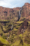 Tugela Falls. In Drakensberg, South Africa Stock Image