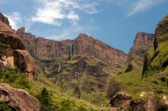 Tugela Falls. In Drakensberg, South Africa Royalty Free Stock Photo