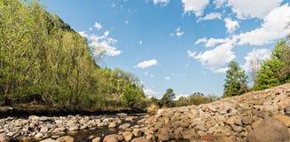 Tugela flod Royaltyfri Fotografi