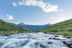 Tugela River and Amphitheatre Royalty Free Stock Images