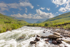 Tugela River and Amphitheatre Royalty Free Stock Image