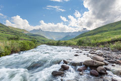 Tugela River flowing Stock Image