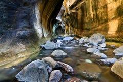 Tugela [Thukela] tunel zawala się Zdjęcia Royalty Free