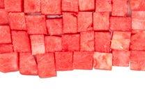 Tuggan storleksanpassade vattenmelon II Arkivbilder