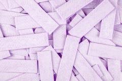 Tuggummi bakgrund texturerad yttersida Arkivbilder