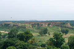 Tughlaqabad. Fort of Tughlaqabad in New Delhi, India Royalty Free Stock Photos