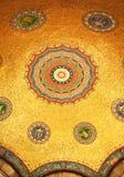 tugra för mosaikotto tecken Arkivbild