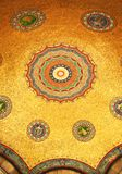 Tugra op mozaïeken, teken van otto Stock Fotografie