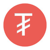 Tugriks currency symbol icon Royalty Free Stock Photos