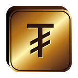 Tugriks currency symbol icon Stock Photo