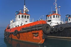 Tugs Royalty Free Stock Photos