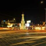 Tugu monument, Jogjakarta Arkivbild