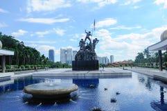 Tugu Negara a K A Monumento nacional em Malásia Fotografia de Stock