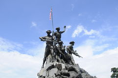 Tugu Negara a K A Monumento nacional em Malásia Imagens de Stock Royalty Free