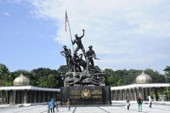Tugu Negara a.k.a. National Monument in Malaysia Royalty Free Stock Images