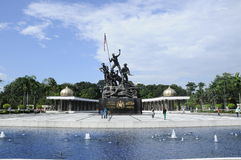 Tugu Negara a.k.a. National Monument in Malaysia Stock Photos