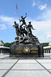 Tugu Negara a.k.a. National Monument in Malaysia Royalty Free Stock Photo