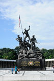 Tugu Negara a.k.a. National Monument in Malaysia Royalty Free Stock Image
