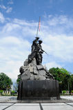 Tugu Negara a.k.a. National Monument in Malaysia Stock Images