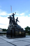 Tugu Negara a.k.a. National Monument in Malaysia Royalty Free Stock Photography