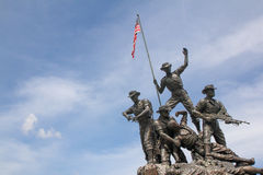 Tugu Negara Monument Malaysia Royalty Free Stock Photography