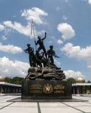 Tugu Negara (monument national) de la Malaisie Photos libres de droits