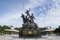 Tugu Negara (monumento nazionale) della Malesia Fotografie Stock Libere da Diritti