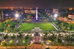 Tugu Pahlawan Surabaya royalty free stock photo